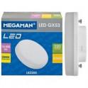 LAMPADA LED GX53 15000H 5W 2800k MEGAMAN